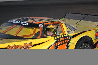 Justin Schroeder In Car