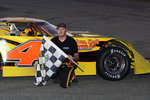 Justin Schroeder With Flag