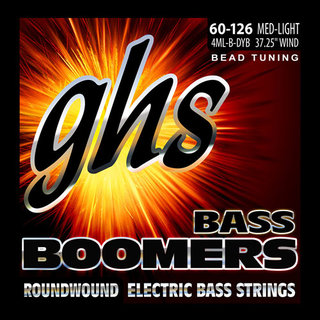 GHS Strings Launches BEAD Tuned Four-String Bass Boomers Sets