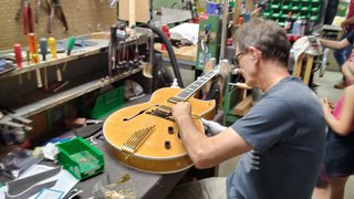 GHS Strings Pays A Visit To Heritage Guitars