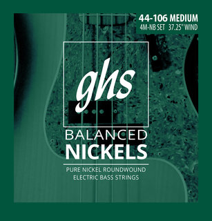 Balanced Nickel Bass Strings Now Available!