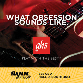 GHS Announces NAMM Artist Appearances