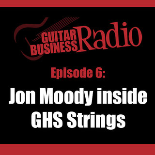 Jon Moody interviewed in Guitar Business Radio