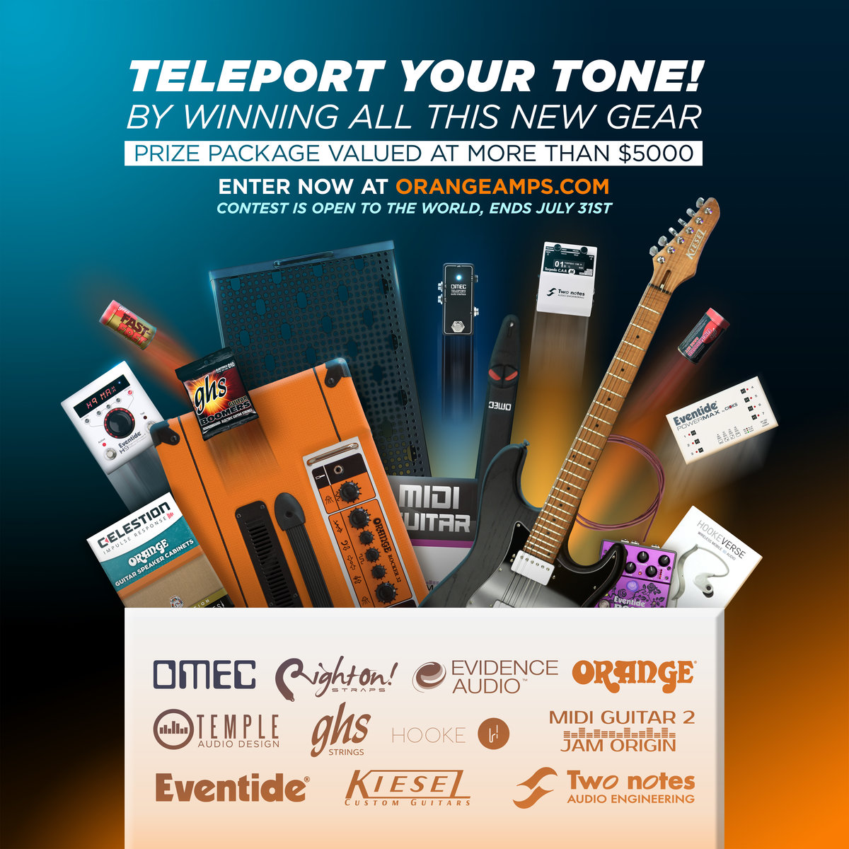 Giveaway: Teleport Your Tone - GHS Strings