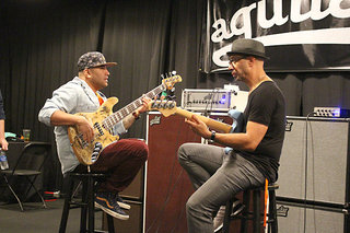 Jammin' at the Aguilar Booth