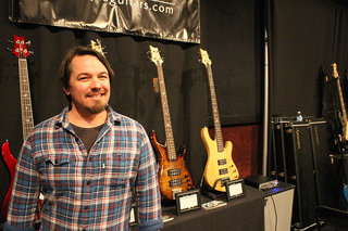 Jim at the PRS Guitars Booth