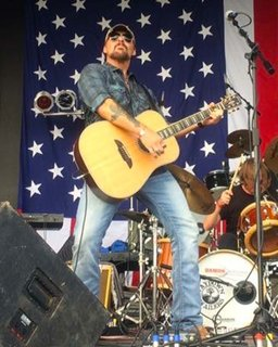 Rick Monroe On Stage  8x10 Image