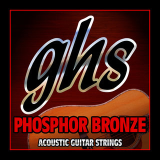 GHS Phosphor Bronze Acoustic Guitar Strings