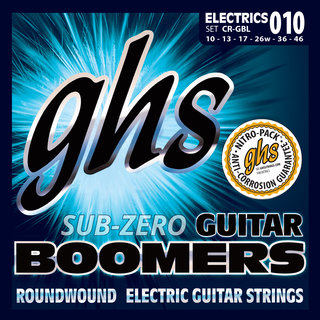 GHS Sub-Zero Guitar Boomers for Electric Guitar