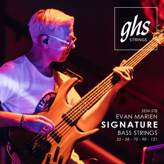 GHS Evan Marien Signature Super Steels for Bass Guitar