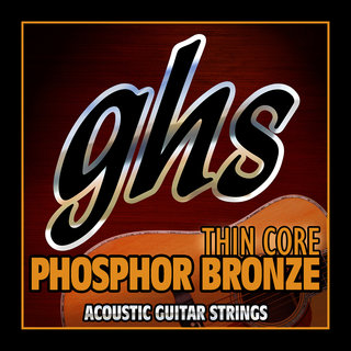 GHS Strings Thin Core Phosphor Bronze for Acoustic Guitar