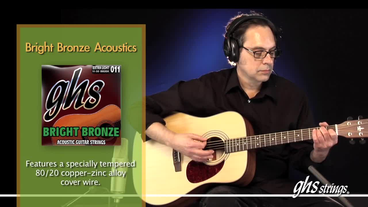 acoustic guitar string comparison ghs strings. Black Bedroom Furniture Sets. Home Design Ideas