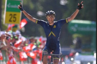 Local TC rider Larry Warbasse wins Stage 4 of Tour de Suisse