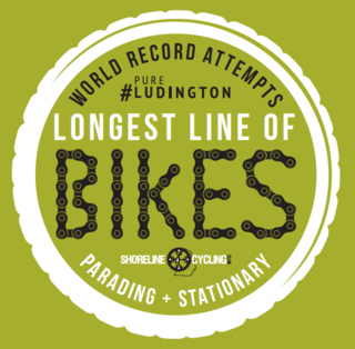 Help our friends in Ludington set two Guinness World Records