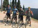 8 mile, 2100 ft climb