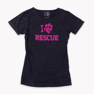 WOMEN'S TEE - I DIG RESCUE