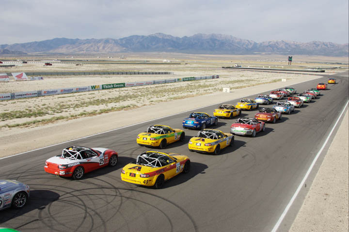 MX 5 Cup Resumes At Miller Motorsports Park