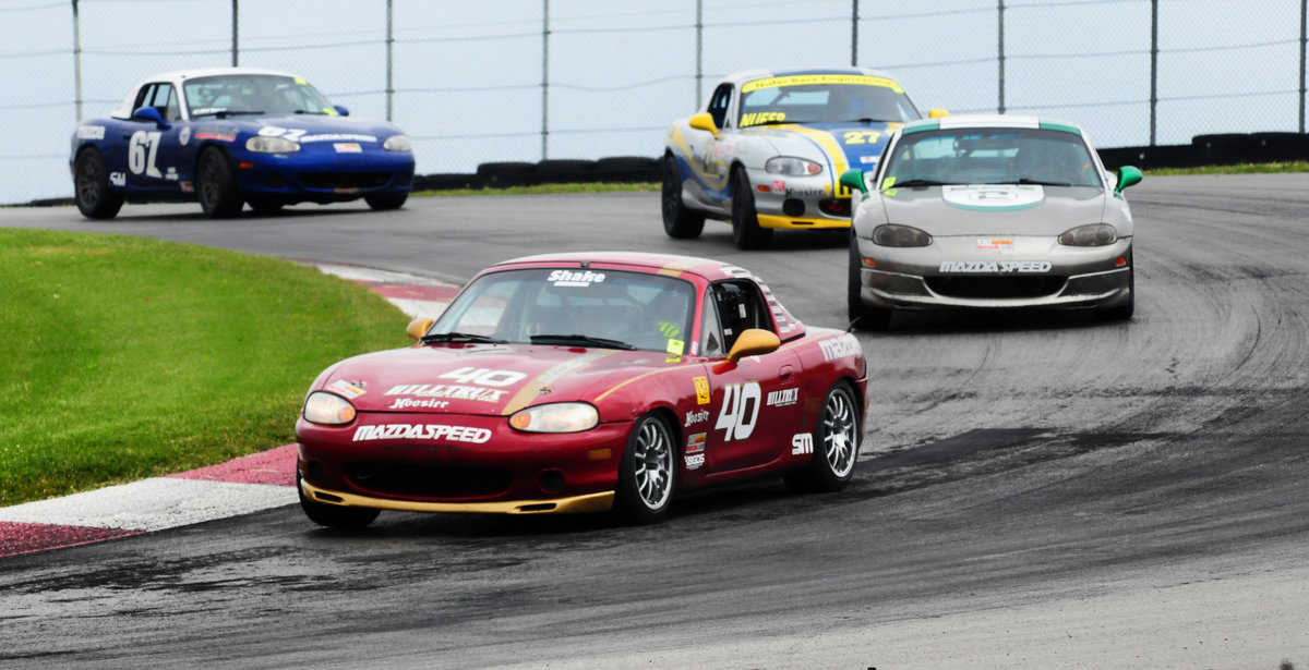 Mazda Motorsports Justin Hille Spec Miata Sports Car