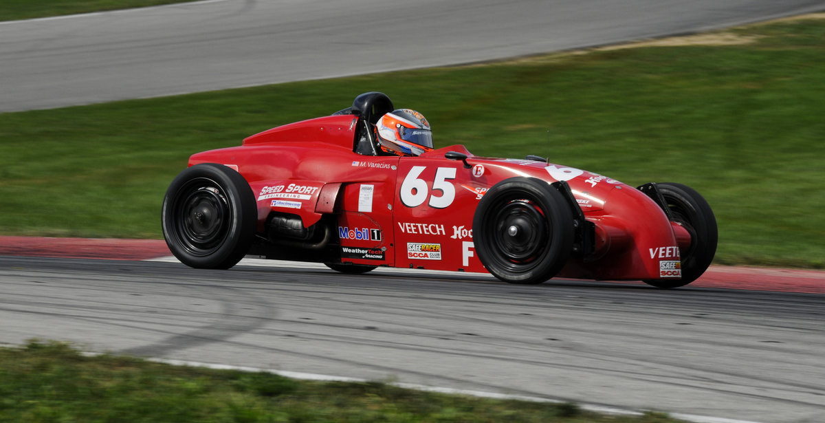 Varacins Wins Fifth-Career Formula Vee National Championship