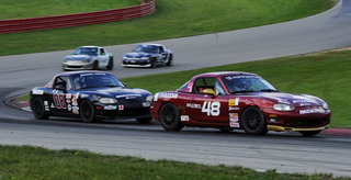 Justin Hille Takes Flag-to-Flag Spec Miata Victory in the SCCA Runoffs at Mid-Ohio