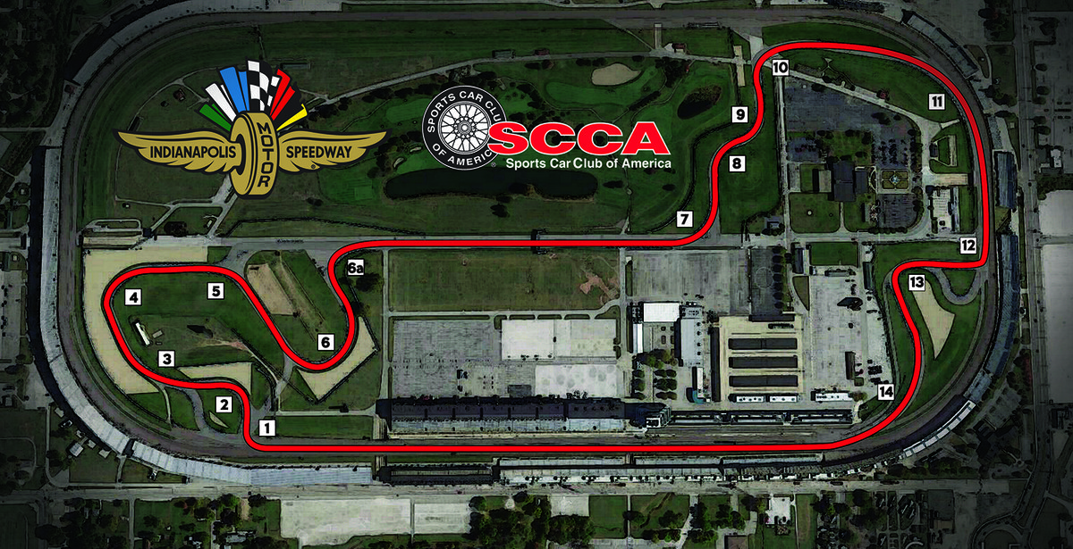 Indianapolis SCCA Runoffs Course Layout Revealed