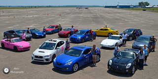Region Hosts First All-Ladies Autocross