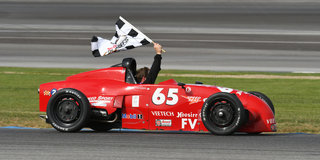 It's Formula V-aracins at Indianapolis Runoffs