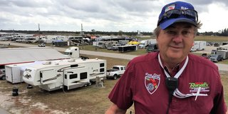 SCCA Parked in Paddock Marshal's Heart