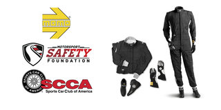 Motorsport Safety Foundation & MOMO Help SCCA Road Racers