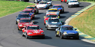 Look for Mazda Motorsports Support at Select SCCA Events