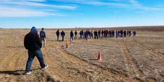 Fast RallyCross Start in Colorado