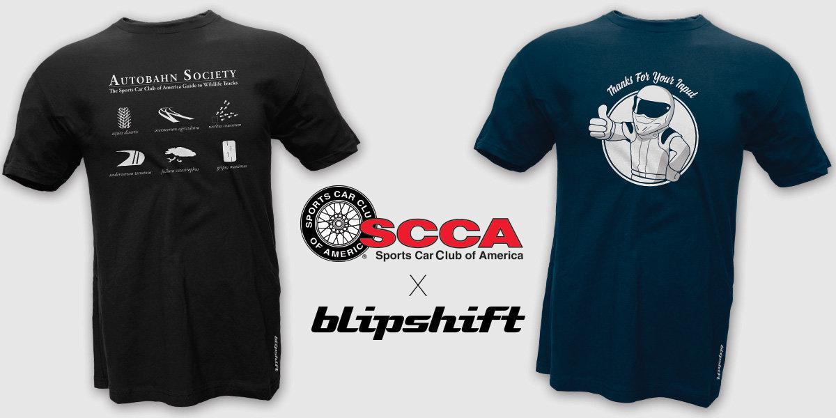 Winning Design for SCCA blipshift Contest on Sale NOW!