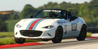 Autocrossers take to the track at the inaugural Tire Rack SCCA Time Trials Nationals