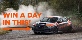 Two Ways to Win a DirtFish Rally School!