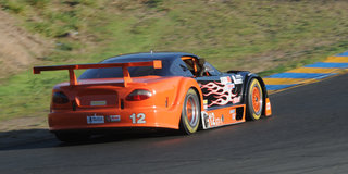 Lewis Hangs On For GT-1 Runoffs Win at Sonoma