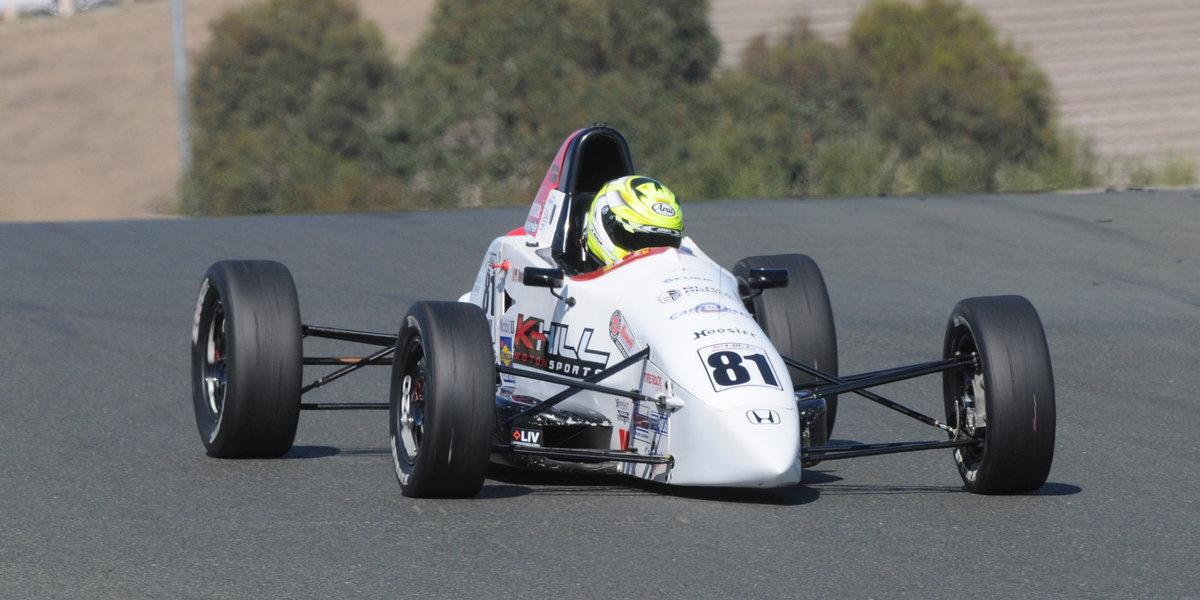Kotyk Captures Formula F Runoffs Win at Sonoma