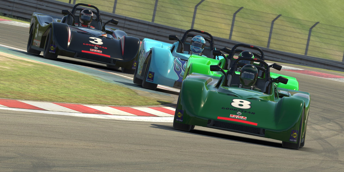 Bordeaux Extends Lead in iRacing SCCA SRF Challenge