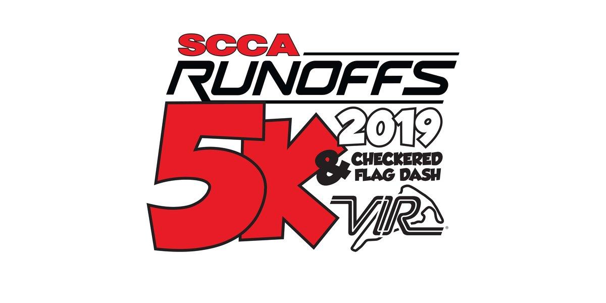 Fourth Annual SCCA Runoffs 5K Walk/Run at VIR - Sports Car