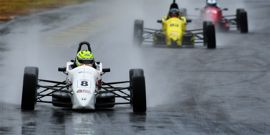 Kotyk Wins Rain-Soaked Formula F at 2019 Runoffs®