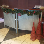 Reception Desk Decked Out