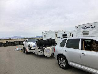Brumo hauling Winnie
