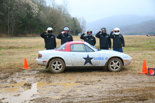 Sarge our rally car