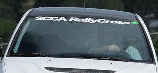 RallyCross Windshield Decal