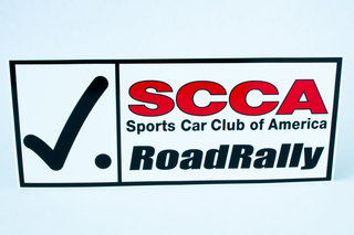RoadRally Decal