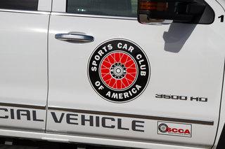 SCCA Wire Wheel Decal - Jumbo