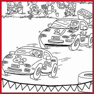 Coloring Pages Activities And More Sports Car Club Of America Coloring Book Activities