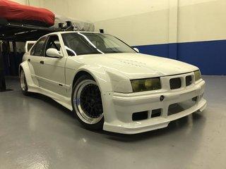 BMW E36 M3 S54 PTG wide body 4 door - Sports Car Club of America
