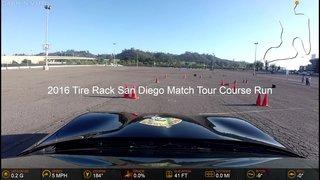 2016 Tire Rack San Diego Match Tour Course Run