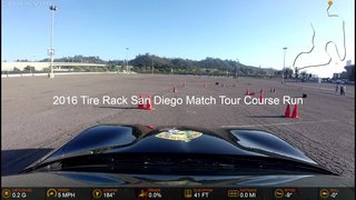 2016 Tire Rack San Diego Match Tour Course Run