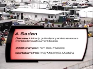American Sedan 2010 SCCA Runoffs